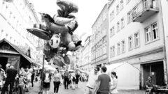 Langos und Luftfiguren