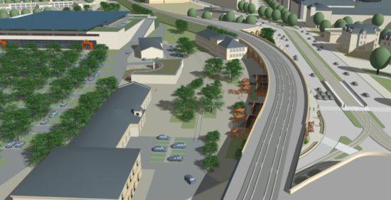 Auf dem Gelände des alten Leipzier Bahnhofs soll ein Globus SB-Markt mit rund 1000 Parkplätzen entstehen. Quelle: globus.net