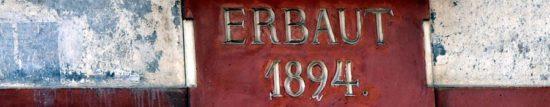 Erbaut 1894
