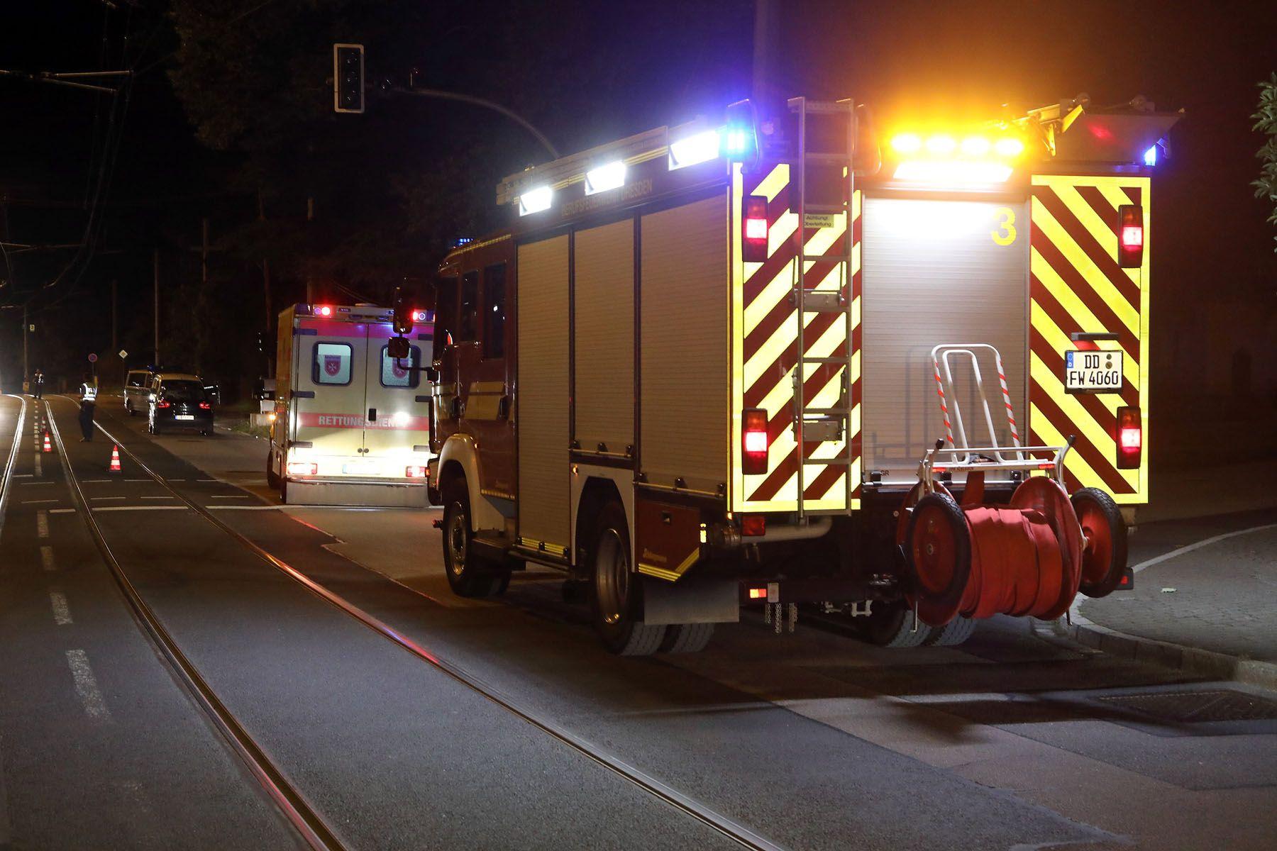 Tödlicher Unfall an Bautzner Landstraße - Neustadt-Geflüster