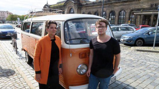 Geschafft und glücklich: Jule, Horst und Paul nach der Tour.