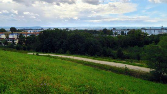 Die letzte Station mit herrlicher Aussicht über Dresden.