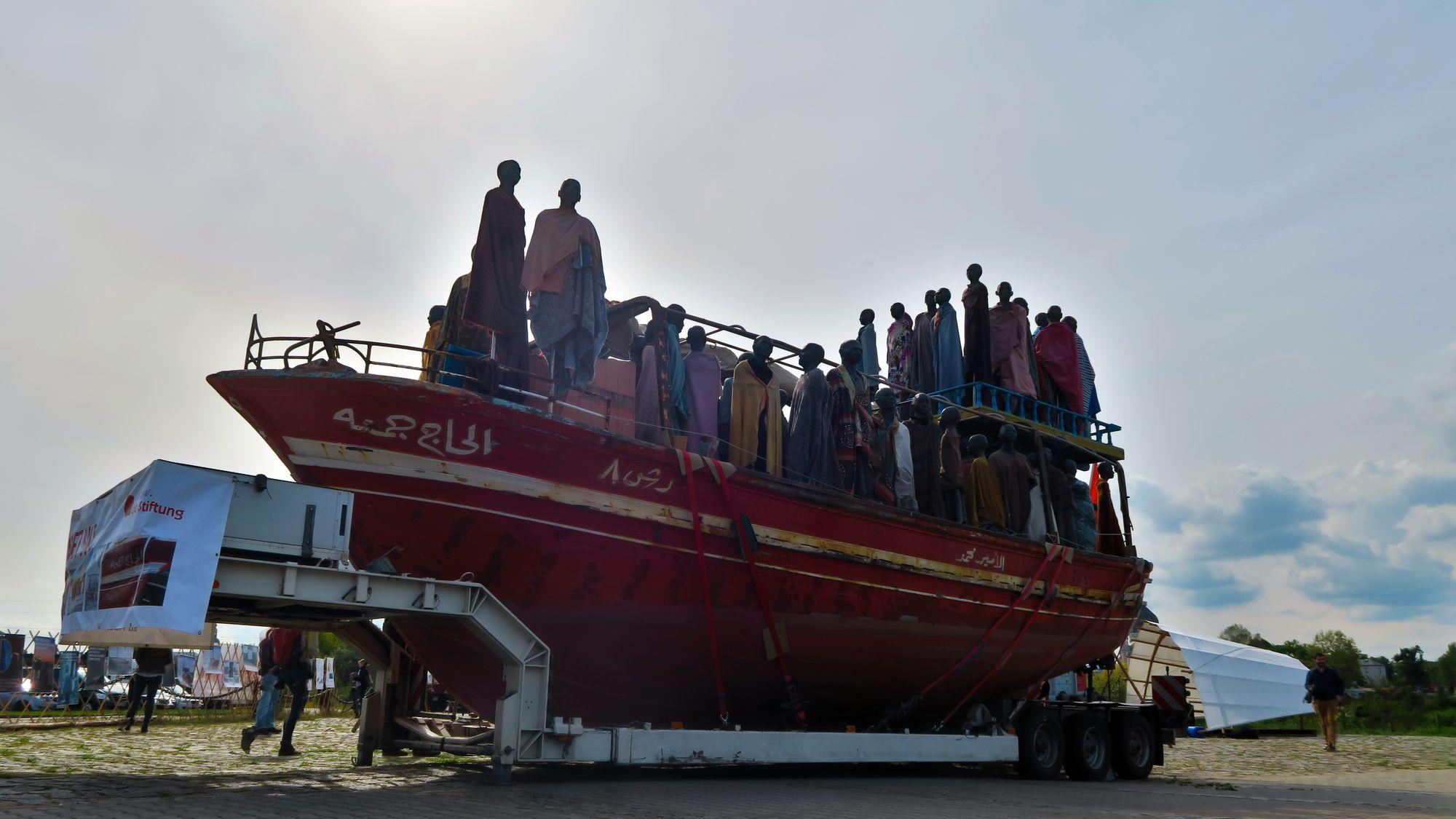 Al-hadj Djumaa am Neustädter Hafen