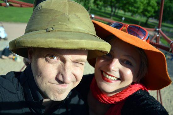 """Torsten Pahl und Ellen Schaller lösen """"Trick17"""""""
