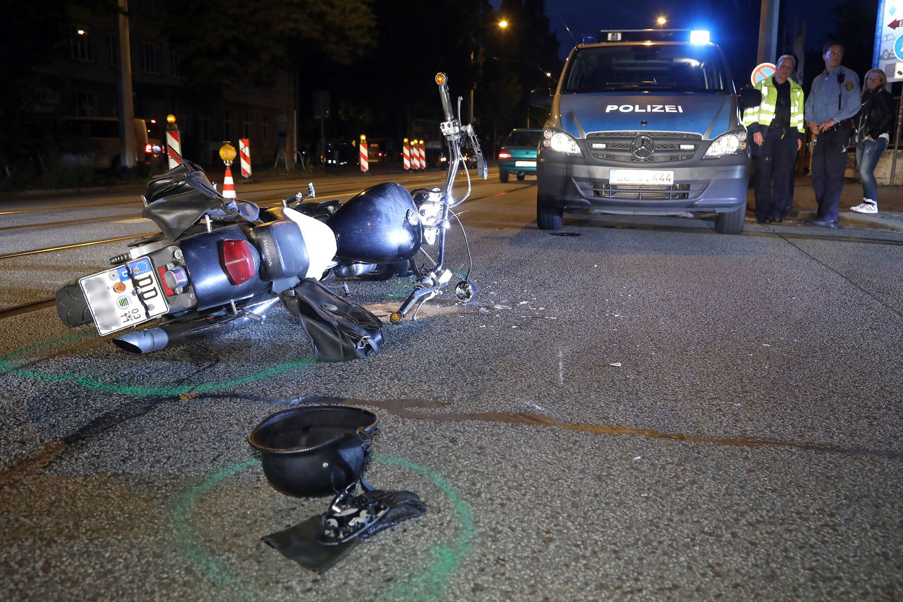 Schwerer Unfall auf der Leipziger Straße - Neustadt-Geflüster