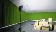 Der Fritz-Lang-Saal ist schon fast fertig.