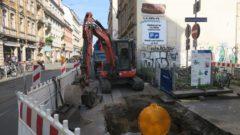Baustelle an der Görlitzer Straße
