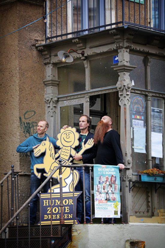 Erstmals ist die Humorzone im Ost-Pol zu Gast. Foto: PR/Amac Garbe