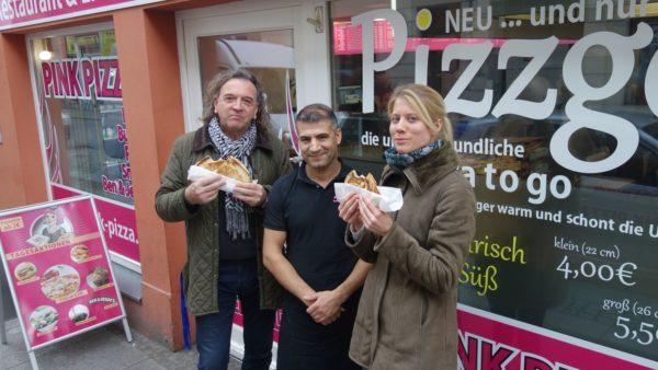 """Pizzgo"" - Pizza ohne Karton"