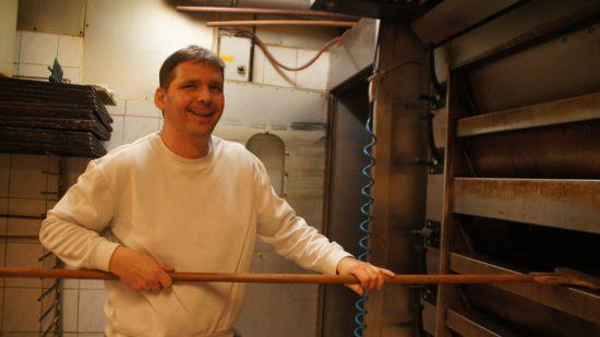 Ehemaliger Lehrling der Bäckerei Rißmann, heute Chef: Holger Thielemann