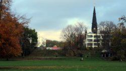 Alaunplatz am Vormittag.