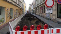 Martin-Luther-Straße gesperrt
