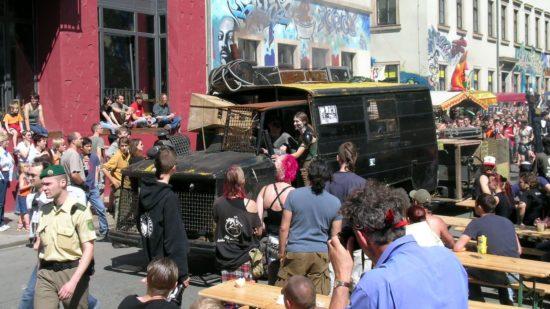 Umzug zur BRN 2005 - Foto: Archiv
