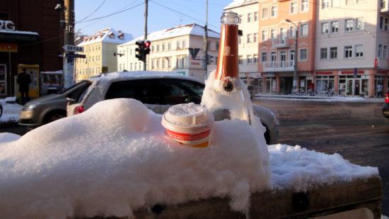 Wenn die Feierreste vom Vortag sanft eingezuckert werden - Foto: Archiv 2010