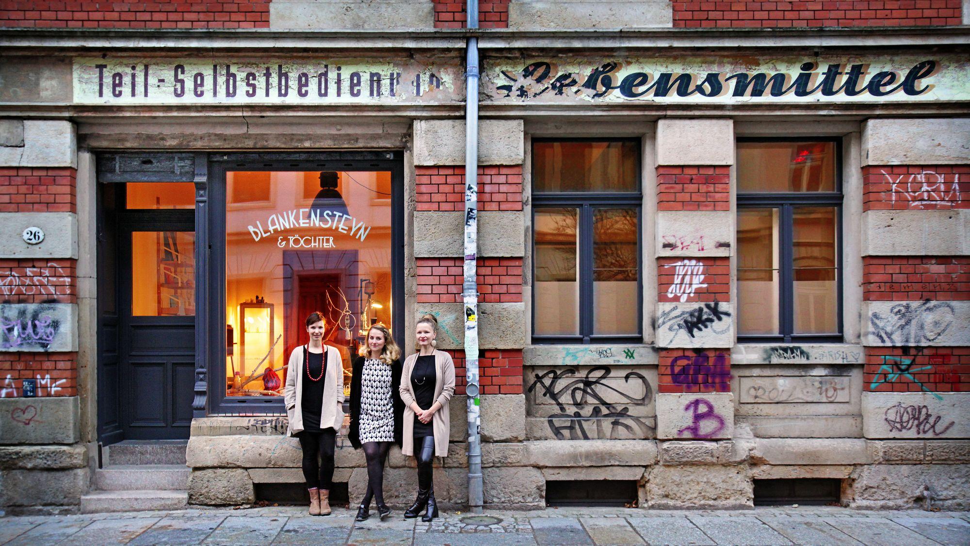 Blankensteyn und Töchter - Sebnitzer Straße 26