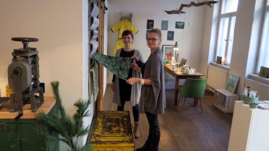 Schablonella und mehr: Katharina Günther und Sinah Hoffmann