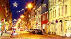 Weihnachtsbeleuchtung auf der Louisenstraße - Foto: Youssef Safwan