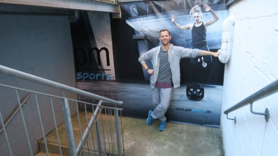 Patrick Müller zieht mit dem Fitness-Studio pm sport's um.