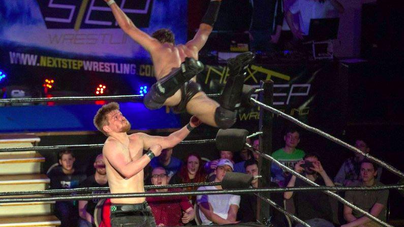 Wrestling-Action im Alten Heizhaus - Foto: Linda Scholz