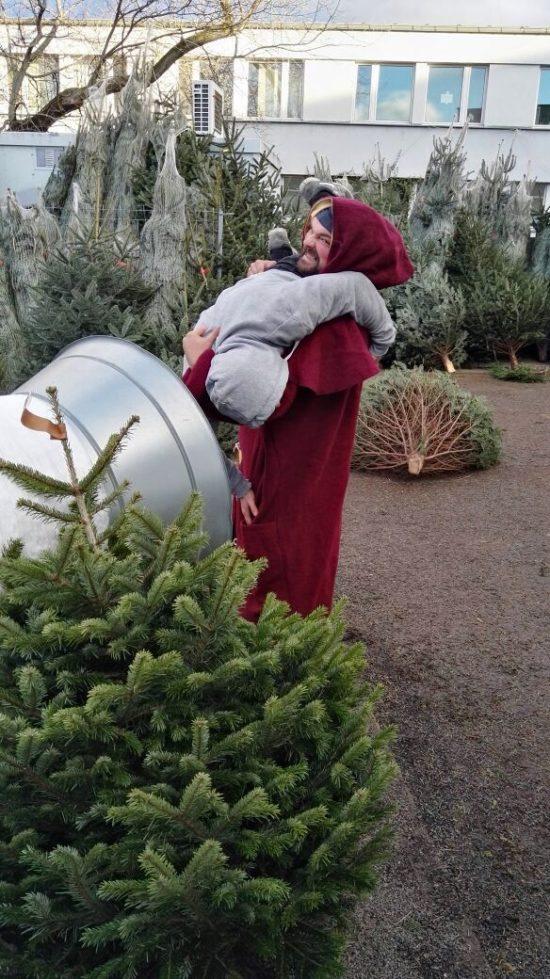 Rick Baxxter bringt als Weihnachtsmann keine Geschenke. Foto: Linda Scholz