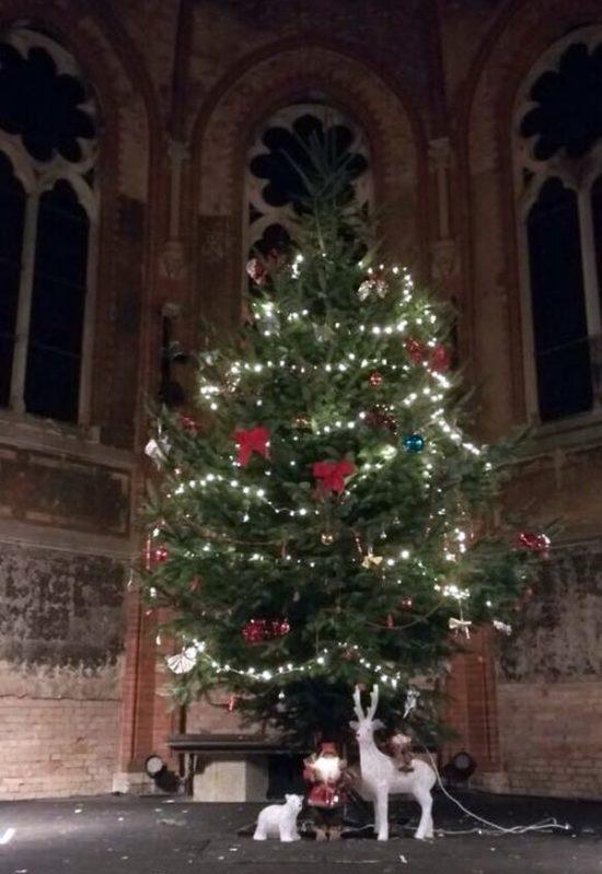 Der Baum steht schon - Foto: PR/Hechtviertel e.v.