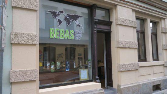 Kultur- und Sprachraum Bebas auf der Martin-Luther-Straße