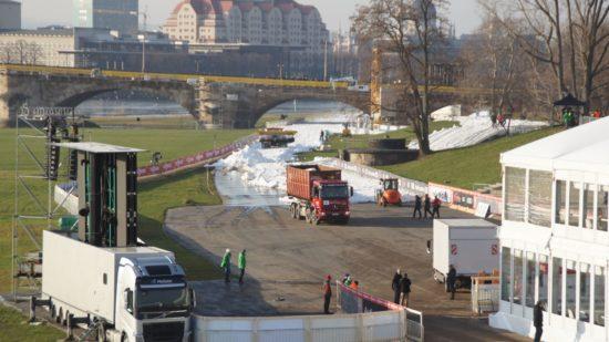Am Wochenende findet der Weltcup im Skilanglauf-Sprint statt.