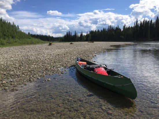Nisutlin Fluss, Yukon, Canada