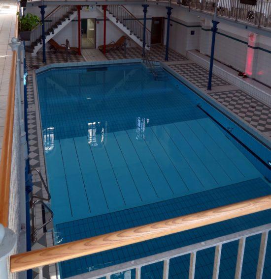 Das Schwimmbecken im fast 125 Jahre alten Nordbad ist 16 mal 8 Meter groß. Foto: Archiv 2017