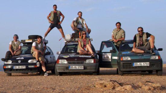 Martin Sicker berichtet heute von der Rallye Dresden-Dakar-Banjul