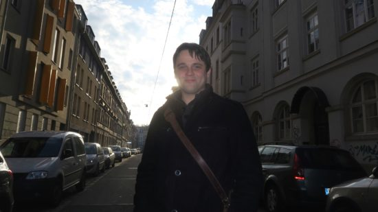 René Seim - Literat, DJ und Neustadt-Fan