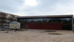 Neue Turnhalle der Regenbogenschule.