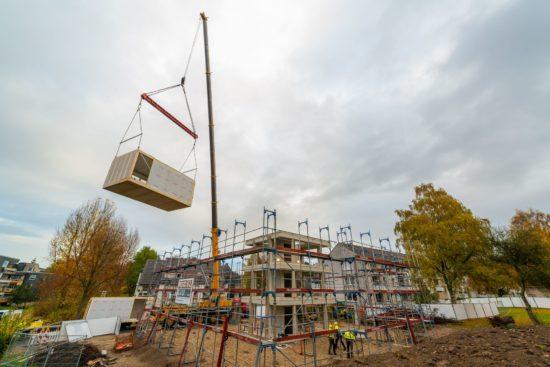 Modularer Wohnungsbau der Vonovia: Hier in Bochum - Foto: PR/Vonovia