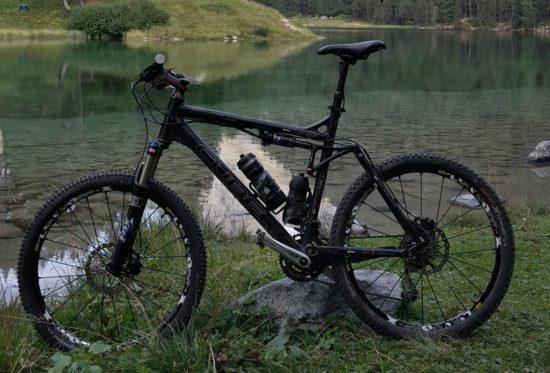 Gestohlenes Mountain-Bike