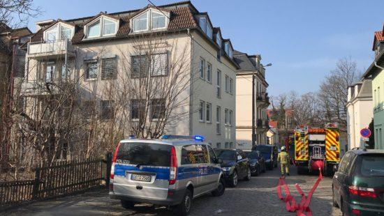 Die Polizei hat die Ermittlungen zur Brandursache übernommen. Foto: Roland Halkasch