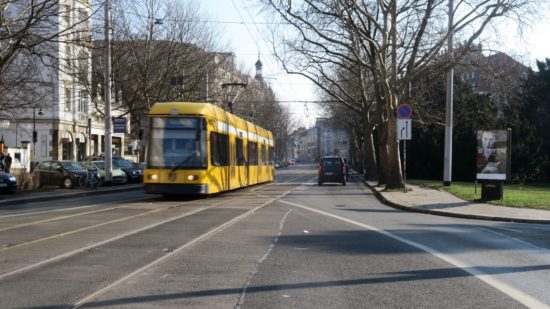 Bautzner Straße soll Radverkehrsanlagen bekommen.