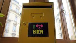 Demnächst am Container: BRN-Briefkasten