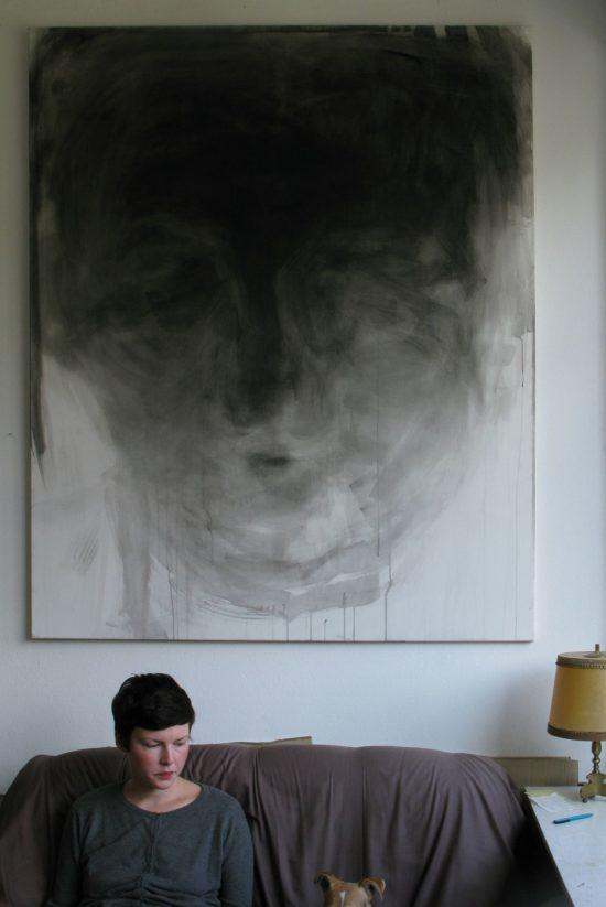 Künstlerin Nadja Poppe