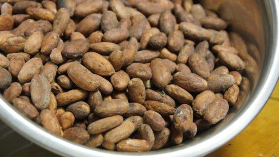 """Fairtrade-Kakaobohnen aus Südamerika sind die Grundlage für das """"Tafelwerk"""""""