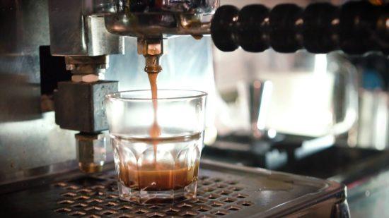 Espresso in Nahaufnahme