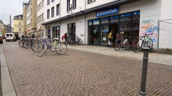Bibliothek an der Königsbrücker Straße