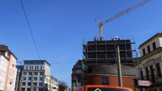 Schau, die Baustellenburg