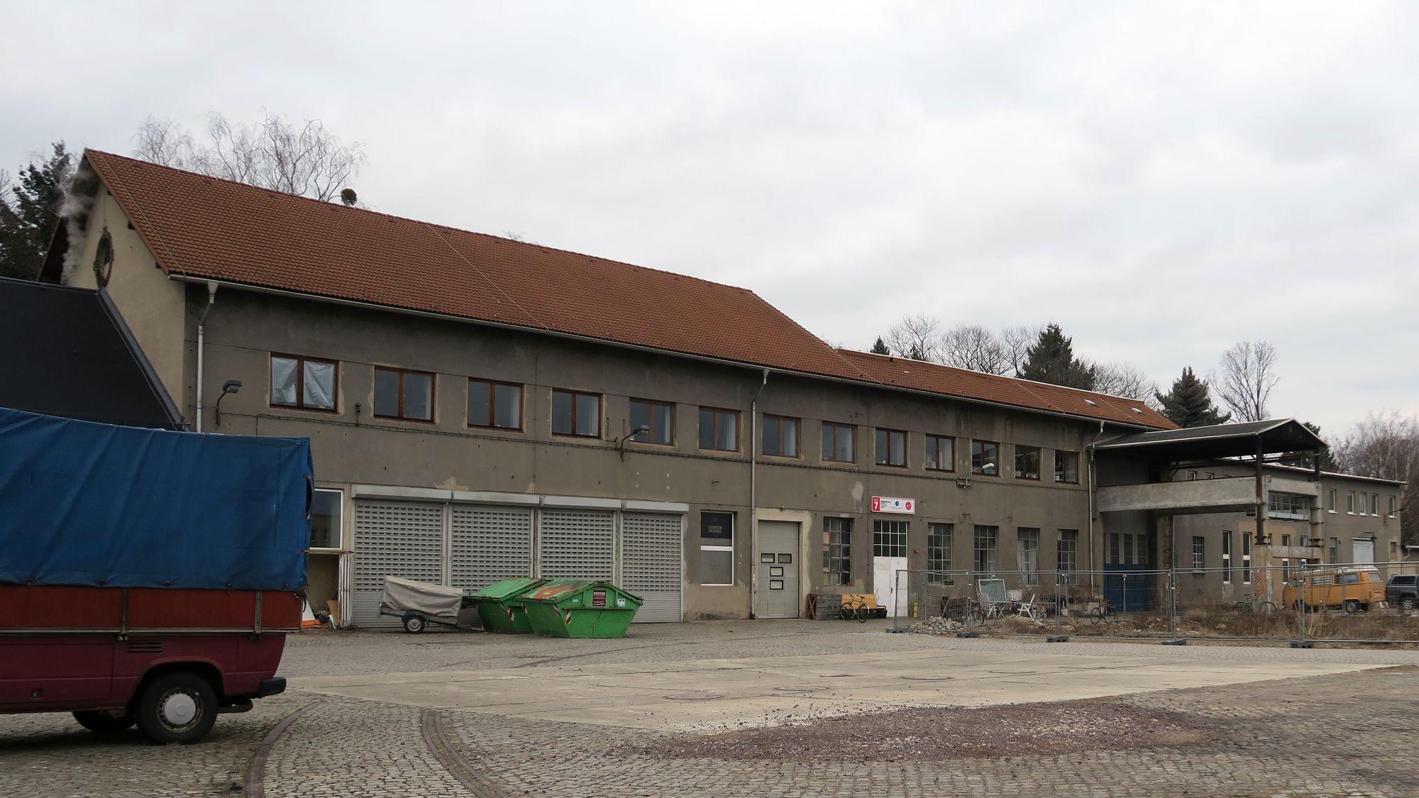 Haus 7 auf dem Drewag-Gelände an der Lößnitzstraße