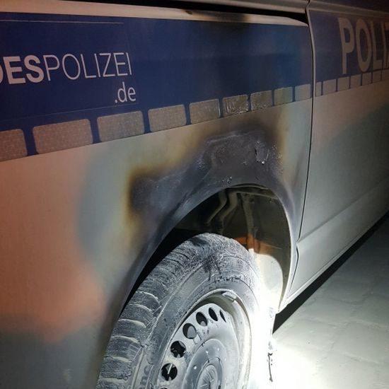 Die Höhe des Sachsschadens steht noch nicht fest. Foto: Bundespolizei