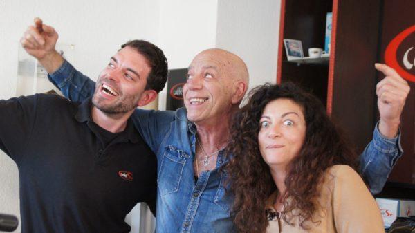 """Leonardo, Luigi und Sonia vom Essebielle: """"Wir sind sehr direkt."""""""