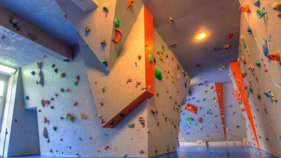 Klettern ohne Seil in Bouldercity