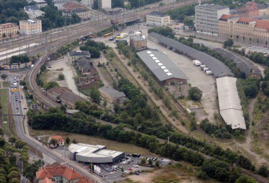 Luftbild vom Gelände - Foto: 2013, Allianz für Dresden, Dietrich Flechtner