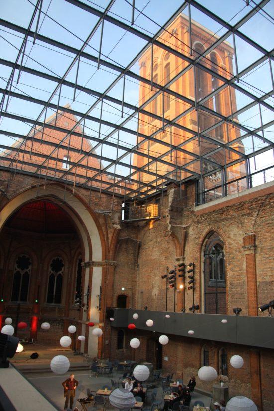 Der Raum der St. Pauli Ruine eignet sich akustisch besonders für den Genuss von Chorkonzerten