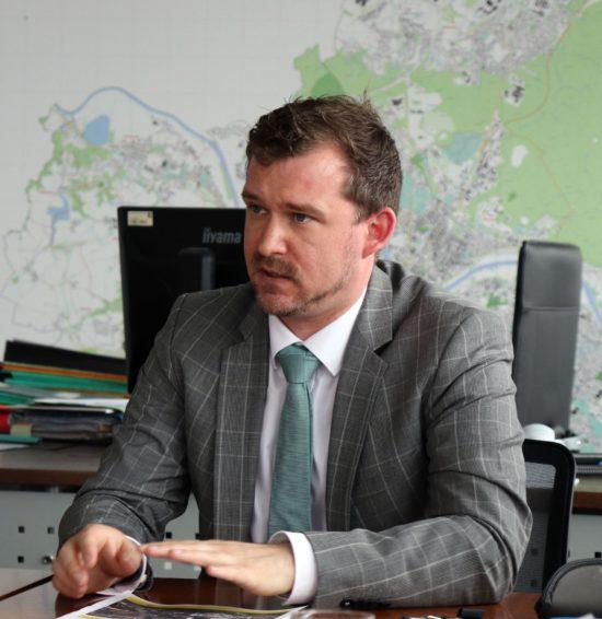 Baubürgermeister Raoul Schmidt-Lamontain