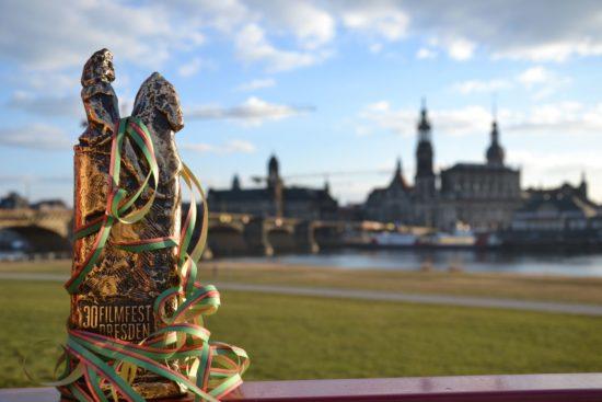 Die begehrte Trophäe: Der Goldene Reiter 2018 - Foto: Filmfest Dresden